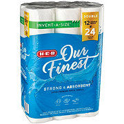 H-E-B Our Finest Invent A Size Super Roll Paper Towels
