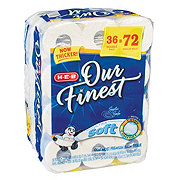 H-E-B Our Finest Ultra Soft Double Roll Bath Tissue