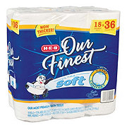 H-E-B Our Finest Ultra Soft Double Roll Toilet Paper