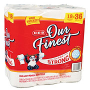 H-E-B Our Finest Ultra Strong Double Roll Bath Tissue
