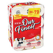 H-E-B Our Finest Ultra Strong Double Roll Toilet Paper