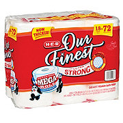 H-E-B Our Finest Ultra Strong Mega Roll Toilet Paper