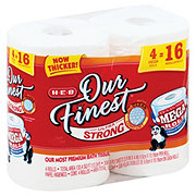 H-E-B Our Finest Ultra Strong Toilet Paper