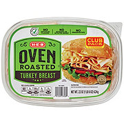 H-E-B Oven Roasted Turkey Breast Club Pack