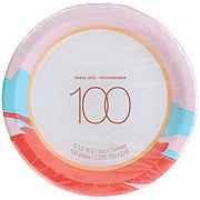 H-E-B Paper Plates, 8.5 Inch