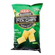 H-E-B Parmesan Baked Pita Chips