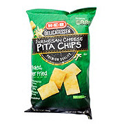 H-E-B Parmesan Cheese Pita Chips
