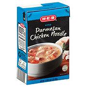 H-E-B Parmesan Chicken Noodle Soup
