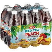 H-E-B Peach Iced Tea 16.9 oz Bottles