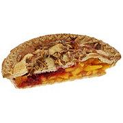 H-E-B Peach Melba Half Pie