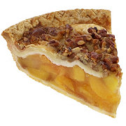 H-E-B Peach Praline Pie
