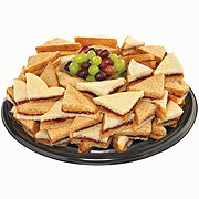 H-E-B Peanut Butter and Jelly Sandwich Party Tray, Limit 4