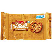 H-E-B Pecan Treasures Pecan Shortbread Cookies