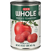 H-E-B Peeled Whole Tomatoes