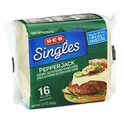 H-E-B Pepper Jack Cheese Singles