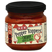 H‑E‑B Pepper Toppers Cherry Sweet & Spicy