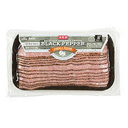 H-E-B Peppered Turkey Bacon