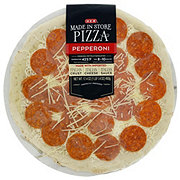 H-E-B Pepperoni Pizza, Made In Store
