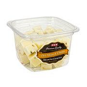 H-E-B Pesto Jack Cheese Cubes