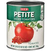 H-E-B Petite Diced Tomatoes
