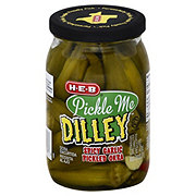 H-E-B Pickle Me Dilley Spicy Garlic Pickled Okra
