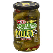 H-E-B Pickle Me Dilley Spicy Garlic Pickles