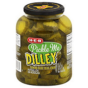 H-E-B Pickle Me Dilley Texas Size Dill Chips