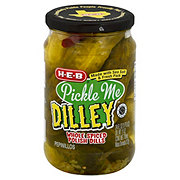H-E-B Pickle Me Dilly Whole Spiced Polish Pickles