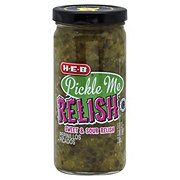 H-E-B Pickle Me Relish Sweet and Sour Relish