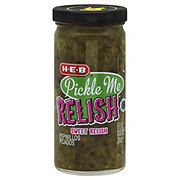 H-E-B Pickle Me Relish Sweet Relish