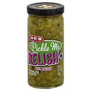 H-E-B Pickle Me Relish Whole Dill Relish