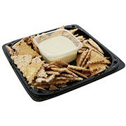 H-E-B Plain Cannoli Chips & Dip Party Tray
