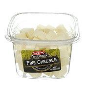 H-E-B Plain Havarti Fine Cheese Cubes