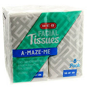 H-E-B Pocket Facial Tissue
