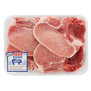 H-E-B Pork Center Loin Chops Bone-In