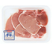 H-E-B Pork Center Loin Chops Bone-In  Thin