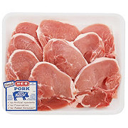 H-E-B Pork Center Loin Chops  Bone-In Value Pack