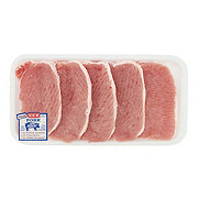 H-E-B Pork Center Loin Chops Boneless Tenderized