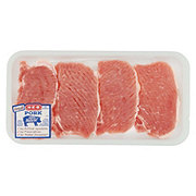 H-E-B Pork Center Loin Chops Boneless Thin