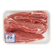 H-E-B Pork Country Style Boston Butt Ribs Bone-In