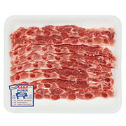 H-E-B Pork Cross Cut Spare Ribs Thin Value Pack