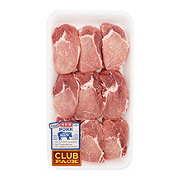 H-E-B Pork Ribeye Boneless Thick Club Pack