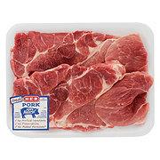 H-E-B Pork Steak Boneless