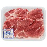 H-E-B Pork Steak Boneless Thick