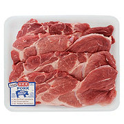 H-E-B Pork Steak Boneless Value Pack