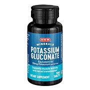 H-E-B Potassium Gluconate 595 mg Caplets