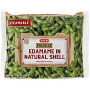 H-E-B Premier Steamable Edamame in Natural Shell