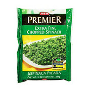 H-E-B Premier Steamable Extra Fine Chopped Spinach