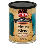 H-E-B Premium 100% Arabica House Blend Med-Dark Roast Ground Coffee