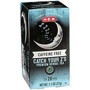 H-E-B Premium Catch Your Z's Caffeine Free Herbal Tea Bags